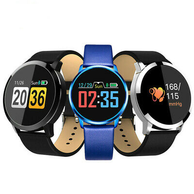 Smart Watch Blood Pressure Bracelet Wristband Heart Rate Monitor for iOS Android
