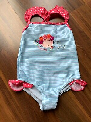 M&S Girls Swimming Costume. 12-18 Months. New No Tags.