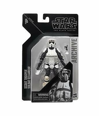 Star Wars Black Series Scout Trooper Archive Wave 2 Storm Action Figure Hasbro