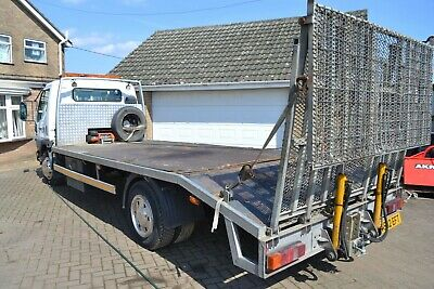 """MITSUBISHI CANTER 7.5 TON 17""""BEAVERTAIL1999 -just MOTd PLANT/RECOVERY wiTB&winch"""