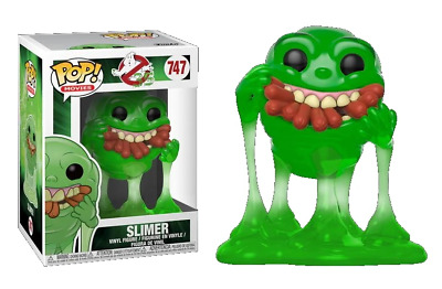 Ghostbusters #747 - Slimer with Hot Dogs - Funko Pop! Movies (Brand New)