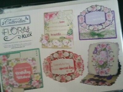 Kanban Cutter Dies Floral Square Die And Card Stash Collection
