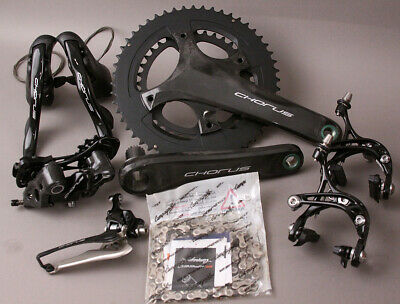 2018-19 Campagnolo Record 12 Speed Group Groupset 6 Pieces 170mm Crankset 52//36