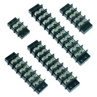 2 to 12 Way Screw Barrier Terminal Block Strip Connector