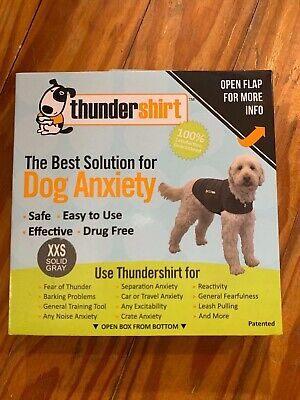 Thundershirt Classic Dog Anxiety Jacket - XXS - Heather Gray