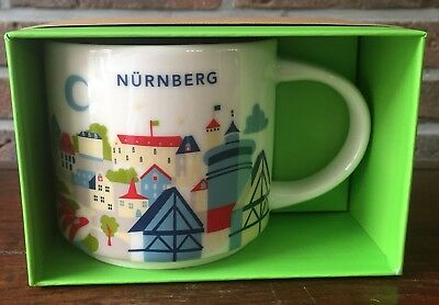 Starbucks You Are Here Collection Nürnberg Germany New NEU mit SKU