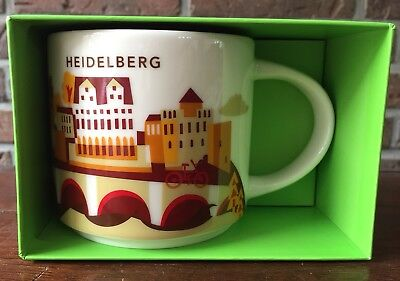 Starbucks You Are Here Collection Heidelberg Germany New NEU mit SKU