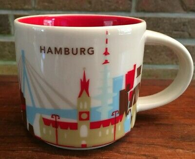 Starbucks You Are Here Collection Hamburg Germany New NEU mit SKU