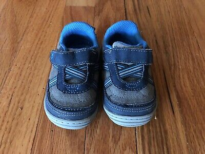 Baby Boy Infant Toddler Shoes Size 4 Lot - Three Pairs