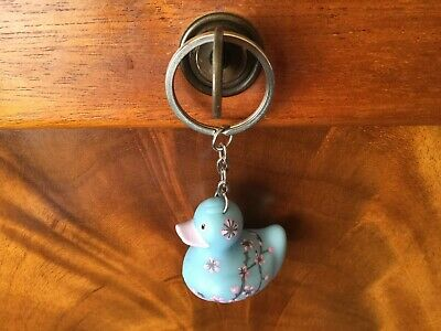 BUD Rubber Duck Keyring for Cancer Research - BLOSSOM  - discontinued