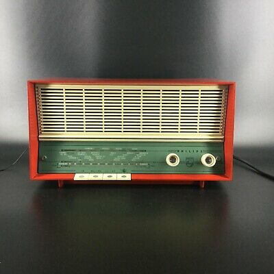 Radio vintage Philips B-2-X-92-A - 1959