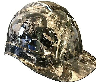 Hydro Dipped Hard Hat Ridgeline Cap Style Cusrom White Turbos & Pistons