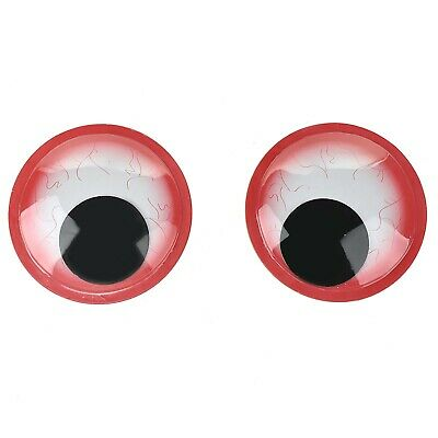 Stickyback Bloodshot Googly Eyes, 6-Inch