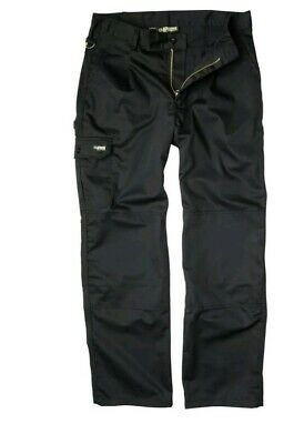 Apache Industry  Work Mens Trousers Tuff Cargo Combat Knee Pad Pockets W30/L29