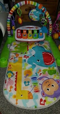 Fisher Price Baby Gym Deluxe Kick & Play Piano Gym