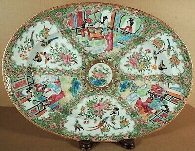 Antique Chinese Export Famille Rose Platter
