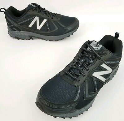 best sneakers 73c66 4d810 MENS NEW BALANCE 410v5 Black Trail Running Shoes All Terrain Sz 8 Extra  Wide 4E