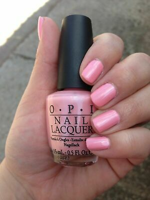 OPI Nail Polish Lacquer  ~Italian Love Affair NL I27~ Light Pink Shimmer Shade~