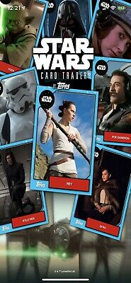 Topps Star Wars Card Trader DIGITAL Cards Sale: Everything Must Go!!!!!