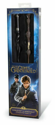Harry Potter Dumbledore and Gindelwald Collector Wand Set