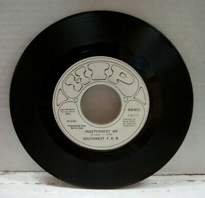 "Southwest F.O.B. As I Look At You/Independent Me Promo 7"" Single HIA-8015"