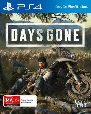 Days Gone PS4 Playstation 4 FREE POST VERY GOOD INCLUDES CD MUSIC DISC