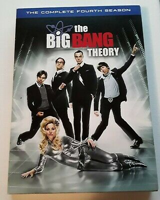 The Big Bang Theory Complete 4th Fourth Season (Free Shipping Within Canada) DVD