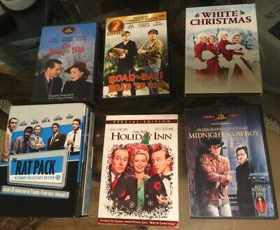 9 Classics DVD Lot-The Rat Pack Ultimate Collectors Edition, Bing Crosby....