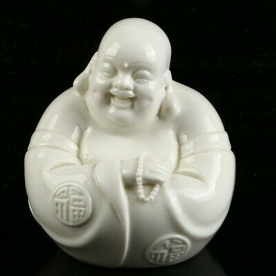 Chinese Dehua Porcelain Sculpture  Hand carved   Buddhism Statue  MC56