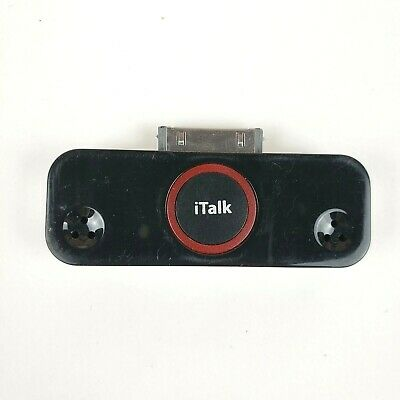 Griffin iTalk Pro Stereo Microphone CD Quality Recording for iPod