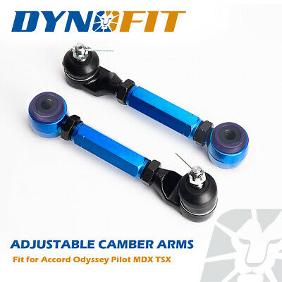 Fit Accord Pilot MDX TSX Adjustable Rear Upper Alignment Camber Control Arm Kit