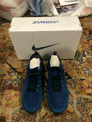 Nike Air VaporMax Flyknit 2; Gym Blue; Running Shoes; Men's Size 10; Very Nice