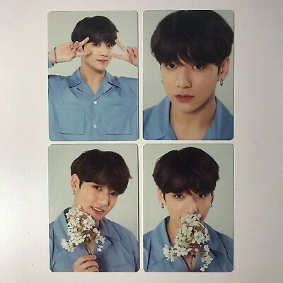 BTS Love Yourself Tour Official Mini Photocard Jungkook