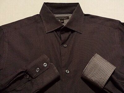 Banana Republic Mens Small Long Sleeve Button-Front Multicolor Geometric Shirt