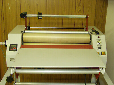REDUCED Encapsulation Laminating Machine hot cold with stand temp pedal control