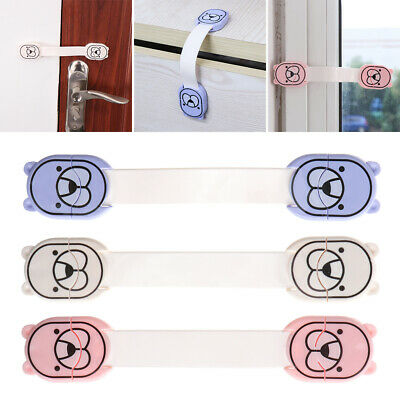 Drawers  Children Protector Plastic  Baby Safety Lock Cupboard Strap Locks