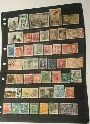 stamps  world mixture  - Used - Lot 861