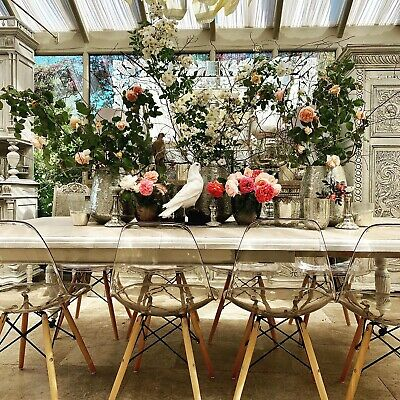 Antique Extendable  Dining Table Solid Oak Two Leaves 2,4m