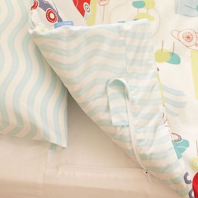Grobag Gro To Bed SINGLE bedding set duvet cover fitted sheet pillowcase Cars
