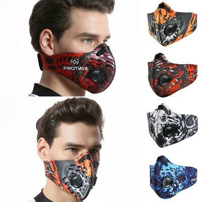 Activated Carbon Dust-proof Cycling Face Mask Anti-Pollution Outdoor Training
