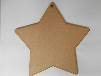 Star, Large wooden 60cm craft shapes With Hole , 6mm thick x 1