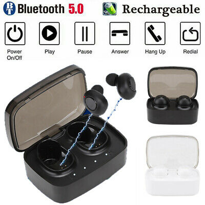Wireless Bluetooth 5.0 Headset Stereo Earphone Earbuds Headphone for Android/IOS