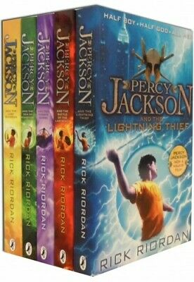 Percy Jackson by Rick Riordan - 5 Book Collection (PDF only)