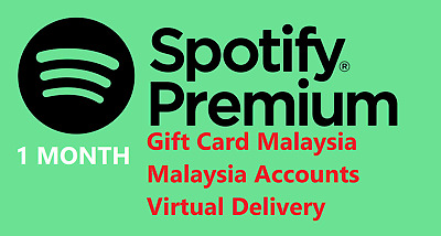 Spotify Malaysia NEW / UPGRADABLE accounts -- 1 month -- Cheap accounts / codes