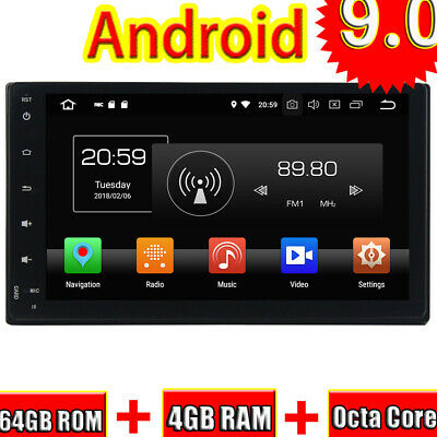 Android 9.0 Car GPS Radio Player Pour Toyota Fortuner 2016-2017 Multimedia Stere