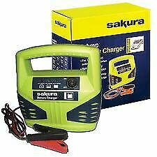 12V Portable 12 Volt 8 Amp Car Van Upto 2.1L Litre Motorhome 4X4 Battery Charger