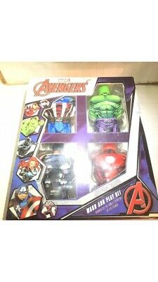 marvel avengers wash and play set