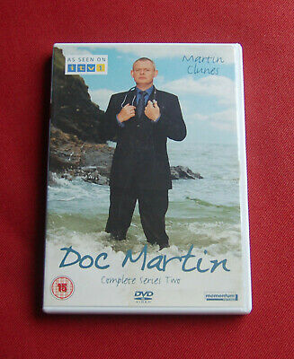 Doc Martin - The Complete Series Two 2 - Region 2 DVD set - Martin Clunes - ITV