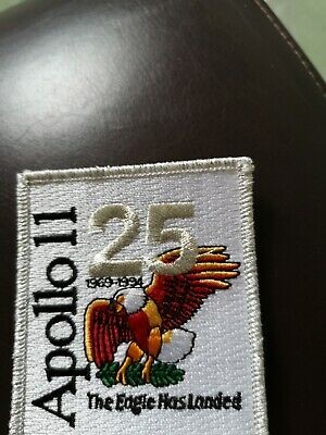 NASA Space Apollo 11 Anniversary Patch Moon lunar landing Neil Armstrong