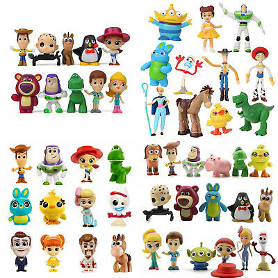 Pixar Toy Story 4 Toys Tinny Or Mystery Minis Series 1 Or Make Forky Set Figure